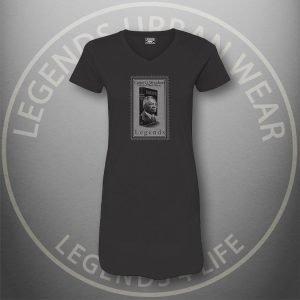 LEGENDS-Carter-Woodson-Womens-Black Dress-Tee-Front