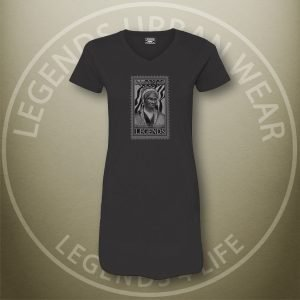 LEGENDS-Sojourner-Truth-Womens-Black-Dress-Tee-Front