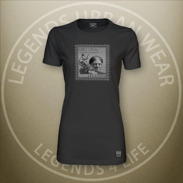 LEGENDS-Tubman-Womens-Black-Premium-Tee-Front