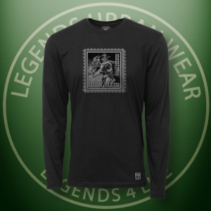 Legends Buffalo Soldiers Black Long Sleeve Shirt FRONT