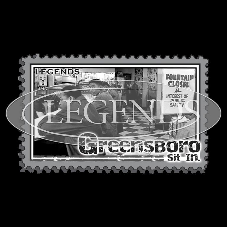 Greensboro Sit In Stamp