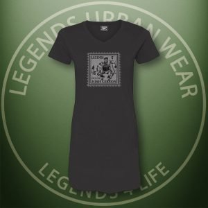 LEGENDS-Josh-Gibson-Womens-Black-Dress-Tee-Front