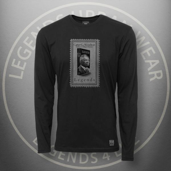 Legends Carter Woodson Black Long Sleeve Shirt FRONT