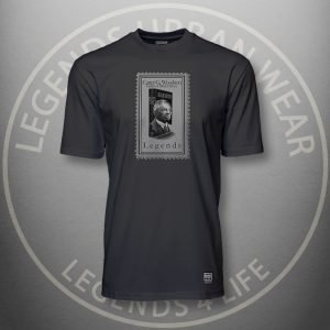 Legends Carter Woodson Black Super Tee Front