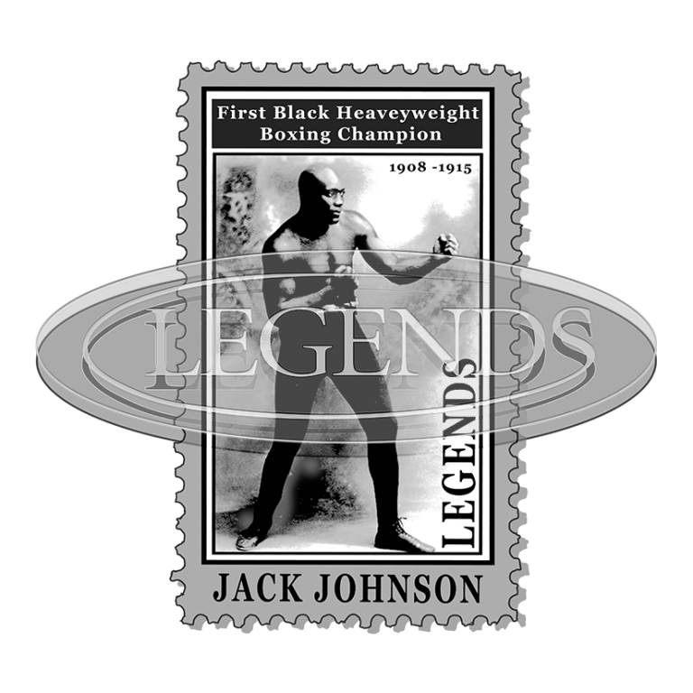 JACK JOHNSON STAMP