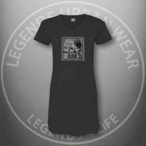 LEGENDS-Tuskegee-Airmen-Womens-Black Dress-Tee-Front