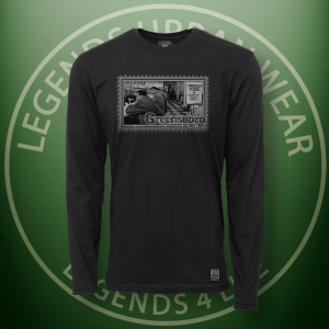 Legends Greensboro Sitin Black Long Sleeve Shirt FRONT