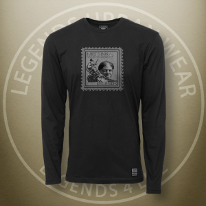 Legends Harriet Tubman Black Long Sleeve Shirt FRONT