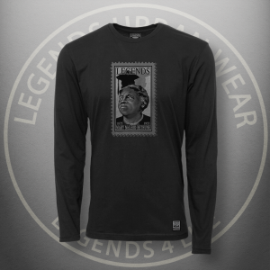Legends Mary McLeod Bethune Black Long Sleeve Shirt FRONT