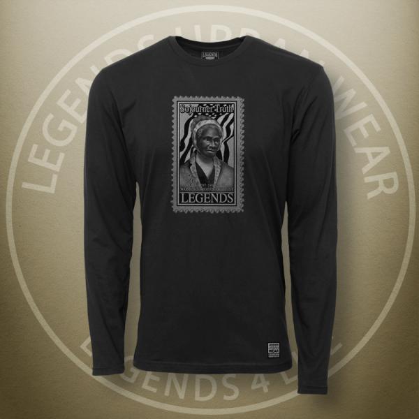 Legends Sojourner Truth Black Long Sleeve Shirt FRONT