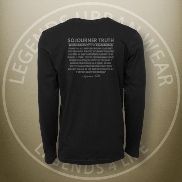 Legends Sojourner Truth Long Sleeve Shirt Back