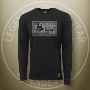 Legends Matthew Henson Black Long Sleeve Shirt FRONT
