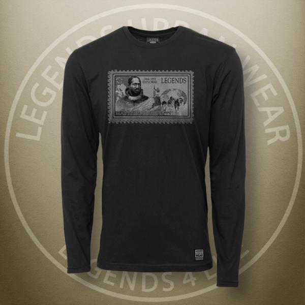 Legends Matthew Henson Black Long Sleeve Shirt FRONT