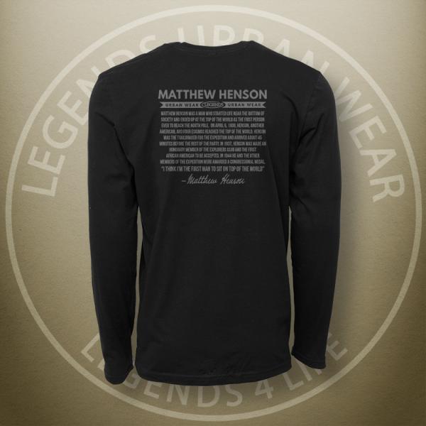 Legends Matthew Henson Long Sleeve Shirt Back