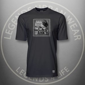 Legends Tuskegee Airmen Black Super Tee Front